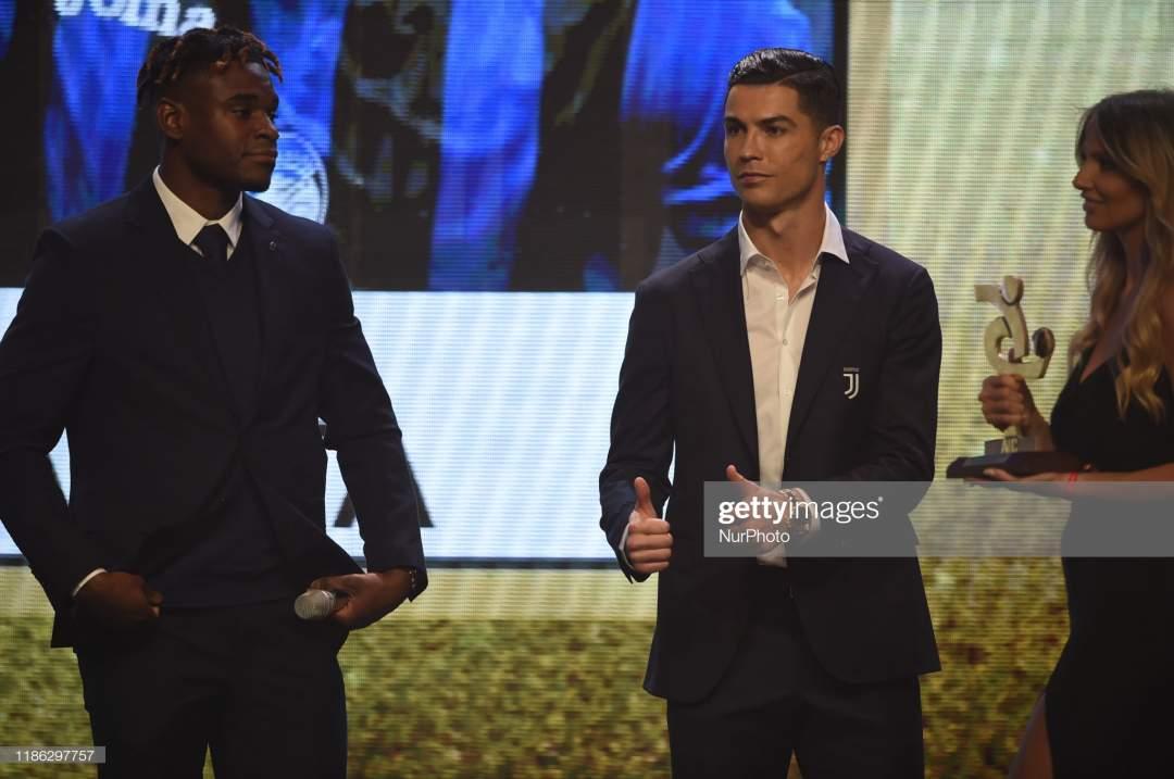Portuguese Striker Cristiano Ronaldo Of Serie A Team Juventus Fc On Picture Id1186297757?s=28