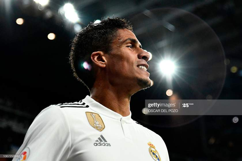 Real Madrids French Defender Raphael Varane Smiles During The Spanish Picture Id1067250242?s=28