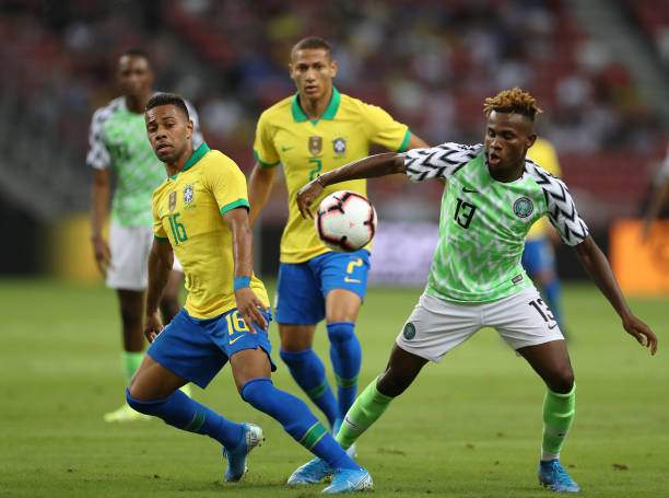 Barcelona turn to Super Eagles star as replacement for Dembele who is out of the season