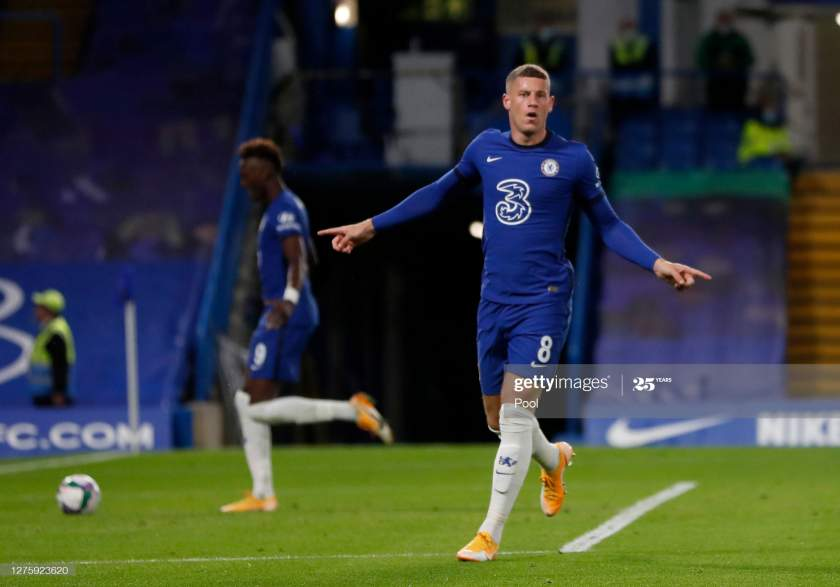 Ross Barkley Of Chelsea Celebrates After Scoring His Sides Third Goal Picture Id1275923620?s=28