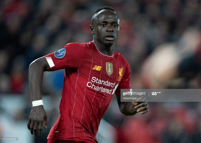 Sadio Mane Of Liverpool During The Uefa Champions League Round Of 16 Picture Id1212436932?s=28
