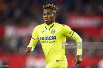 Europa League: Unai Emery expects Chukwueze to leave Villarreal for another league