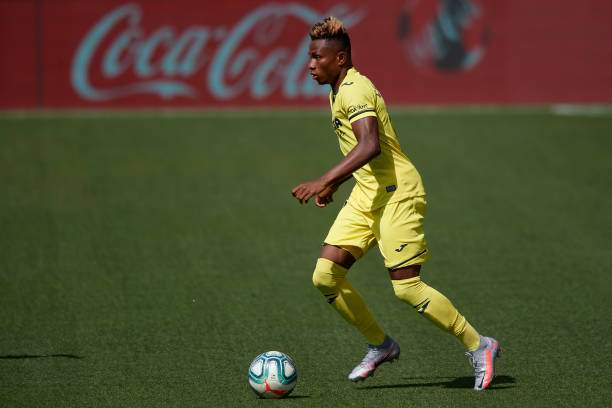 Samuel Chukwueze Of Villarreal In Action During The Liga Match Cf Picture Id1223474196?k=6&m=1223474196&s=&w=0&h=lNOEUvB1Hhq7iMpCMYWab Nr99J2 LYVmBK4sw7WKwQ=
