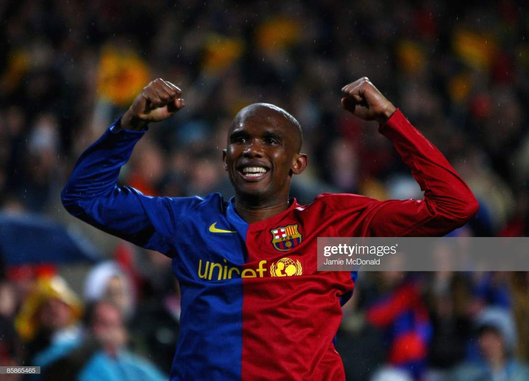 Despite playing together for 6 years, Eto'o leaves Messi out as he names his best ever teammate