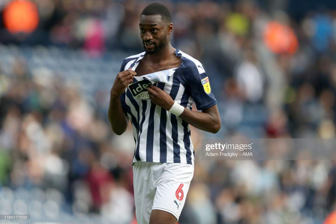 Semi Ajayi Of West Bromwich Albion With A Ripped Shirt At The End Of Picture Id1165171533?s=28