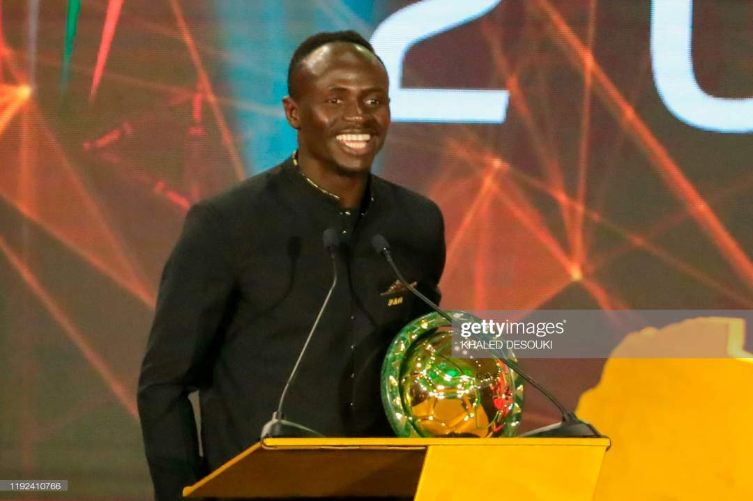 Senegal Winger Sadio Mane Speaks After Winning The Player Of The Year Picture Id1192410766?s=28