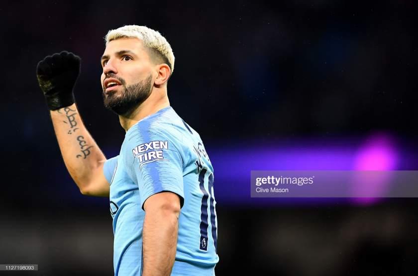 EPL: Guardiola names best striker in Man City's history