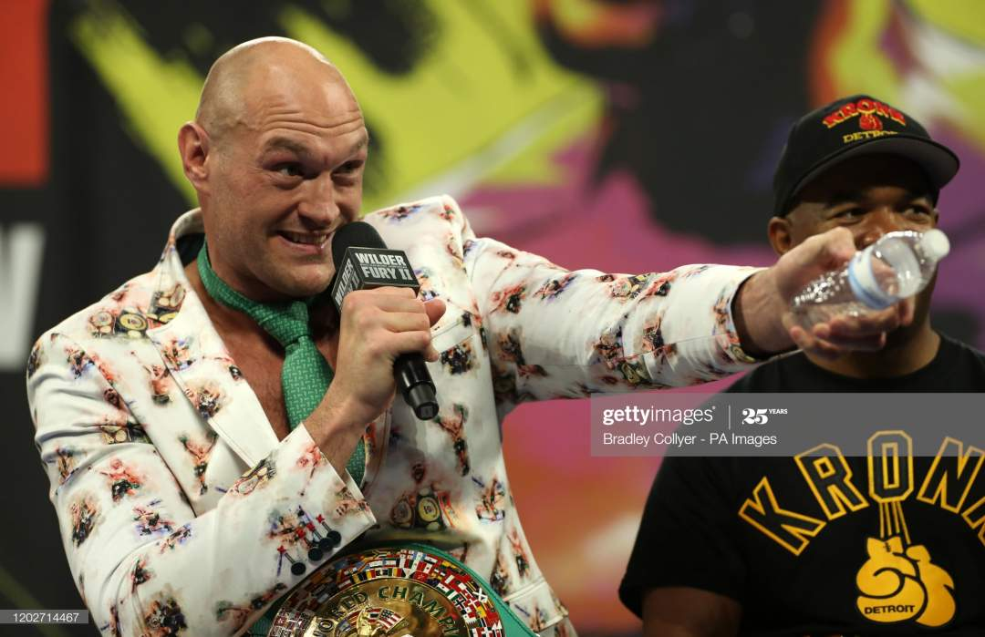 Coronavirus: New date set for Tyson Fury vs Deontay Wilder's heavyweight trilogy fight