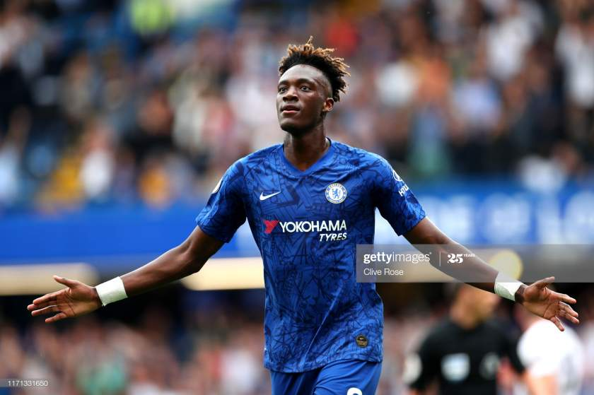 Tammy Abraham Of Chelsea Celebrates After Scoring His Teams Second Picture Id1171331650?s=28