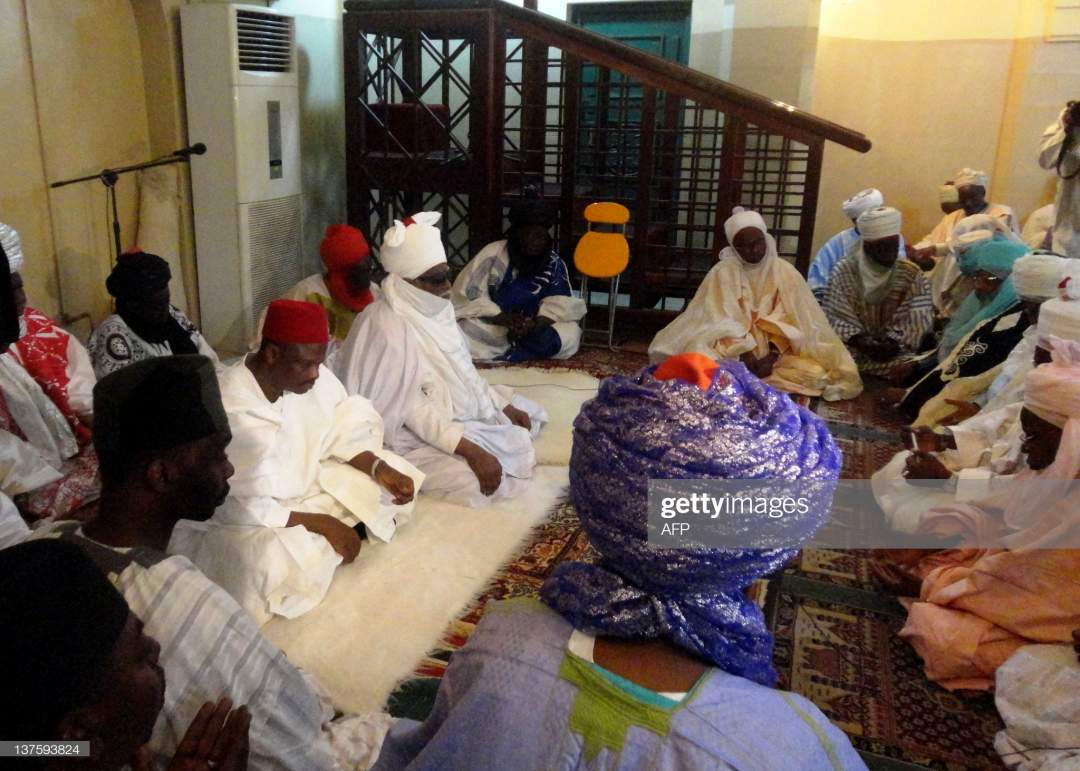 The Governor Of Kano State Rabiu Musa Kwankwaso And The Emir Of Kano Picture Id137593824?s=28
