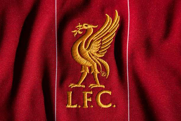 The Liverpool Club Crest On The First Team Home Shirt Displayed On 6 Picture Id1223633716?k=6&m=1223633716&s=&w=0&h=Y27cJ9YscU4DNOsqZexcuG3AagtvN_rW9lf3oOnf_pw=