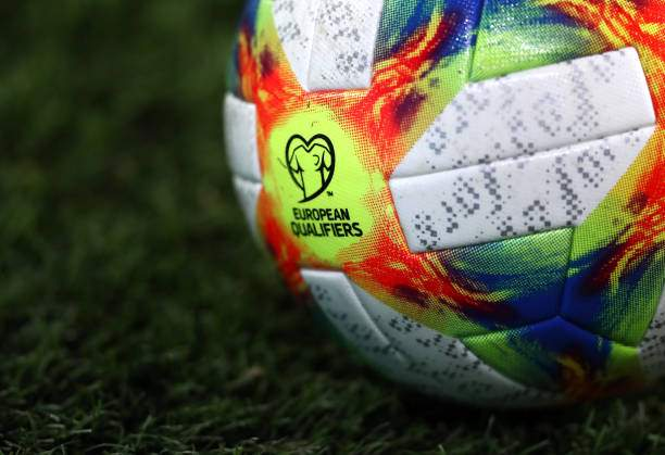 The Match Balls Ahead Of The Uefa Euro 2020 Qualifier Between Wales Picture Id1188702901?k=6&m=1188702901&s=&w=0&h=g1elcOKahisPWYG1db4JcsIDLeDm7cpqgF0snOfq5Cc=