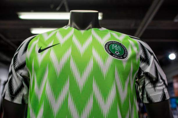 The Nigeria Super Eagles Jersey For The 2018 World Cup In Russia Is Picture Id974354314?k=6&m=974354314&s=&w=0&h=PA1Y3Np3 GizE9uFhfPZ31uhOObsWRipoW_FILgevAc=