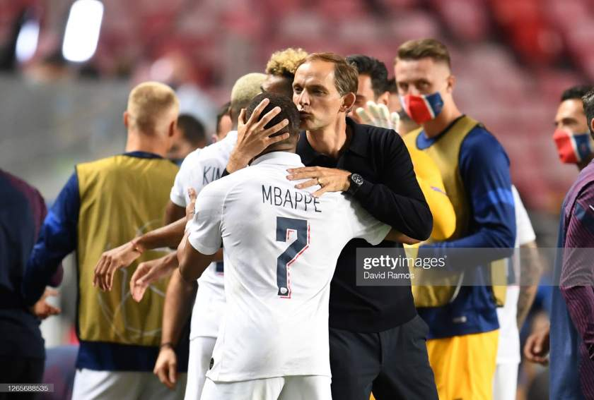 Kylian Mbappe reacts to sack of Tuchel as PSG manager