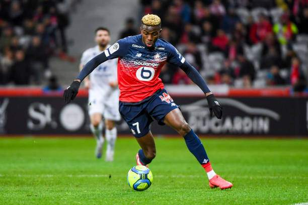 Victor Osimhen Of Lille During The Ligue 1 Match Between Lille And Picture Id1206118476?k=6&m=1206118476&s=&w=0&h=MklKB2P7p4kJtNaNLlEuaTJMuY1sUAcEg2AHFSJRdrk=