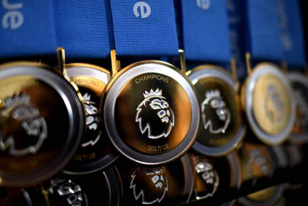 View Of The Premier League Winners Medals Prior To The Premier League Picture Id955275702?k=6&m=955275702&s=&w=0&h=RRoyqrXyodUO1QkwJmJaRMWsOq02EUxUW6PUv2GaafI=