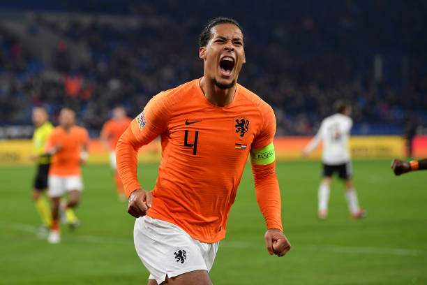 Virgil Van Dijk Of The Netherlands Celebrates After Scoring His Teams Picture Id1063567138?k=6&m=1063567138&s=&w=0&h=eB NoUyjcuownvvBCdlca5o8 UAWN98emx0Oof70YTo=