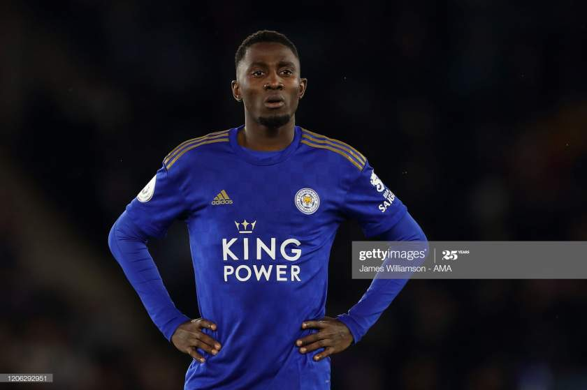 Wilfred Ndidi Of Leicester City During The Premier League Match Picture Id1206292951?s=28