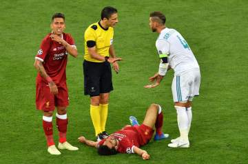 Liverpool Fans Launch Petition To Punish Sergio Ramos For Mohamed Salah Injury