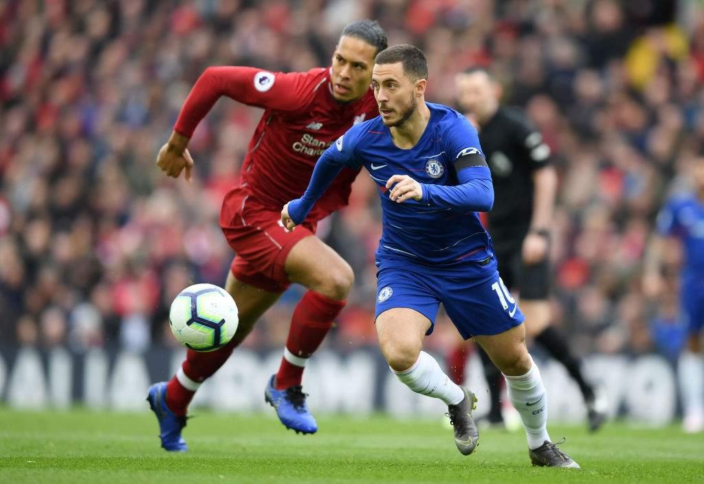 Eden Hazard explains how he had 'no chance' against Liverpool's Virgil van Dijk