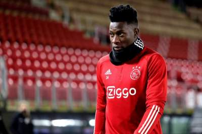 Cameroon & Ajax Goalkeeper Andre Onana Banned for 12 Months for Failing Drug Test