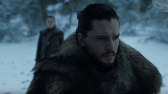 Jon and Arya finally reunite in tense teaser for 'Game of Thrones' Season 8
