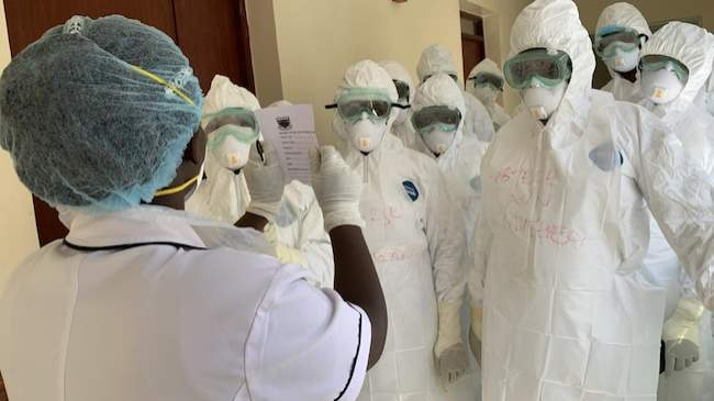 They're all fabricated stories - Discharged patient says coronavirus is a scam in Nigeria
