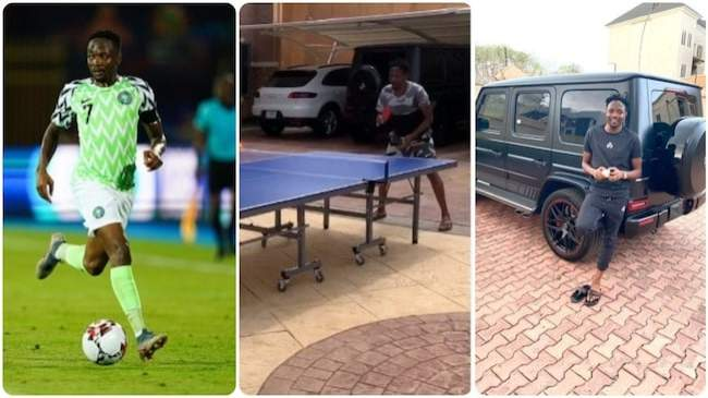 Inside Ahmed Musa's expensive garage valued around N200m