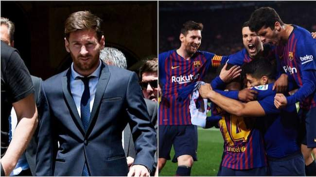 Tension in Barca as only 14 senior stars are available for Napoli UCL clash days after 3 players ganged up against Messi