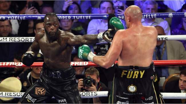 Wilder comes up with another flimsy excuse on why he lost to Fury