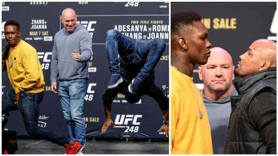 Nigerian UFC champion Adesanya beaten by 42-year-old fighter but it's not what you think (video)