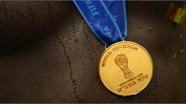 Here is the whopping amount 1 member of France's 2018 World Cup squad sold his winners' medal