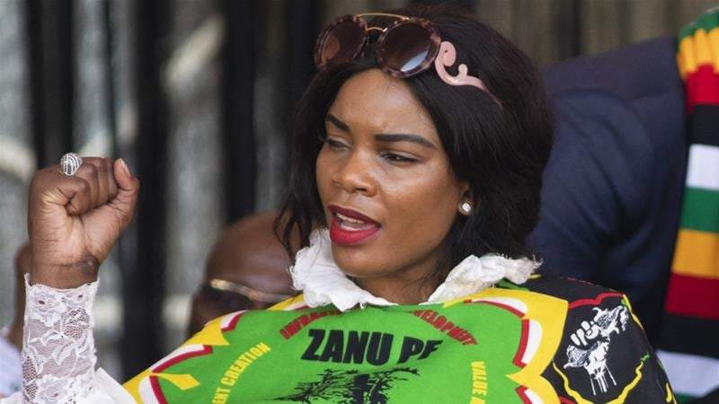 Just in: This vice president wife has just been arrested for money lundering