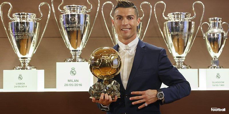 Cristiano Ronaldo Wins 2016 Ballon D'Or