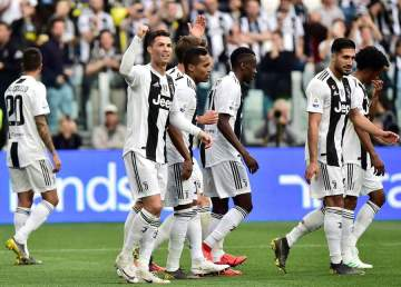 Juventus beat Fiorentina to emerge Serie A champions for 8 successive time