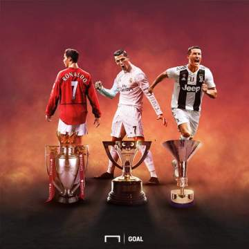 Ronaldo makes history in Europe after winning first Serie A title with Juventus