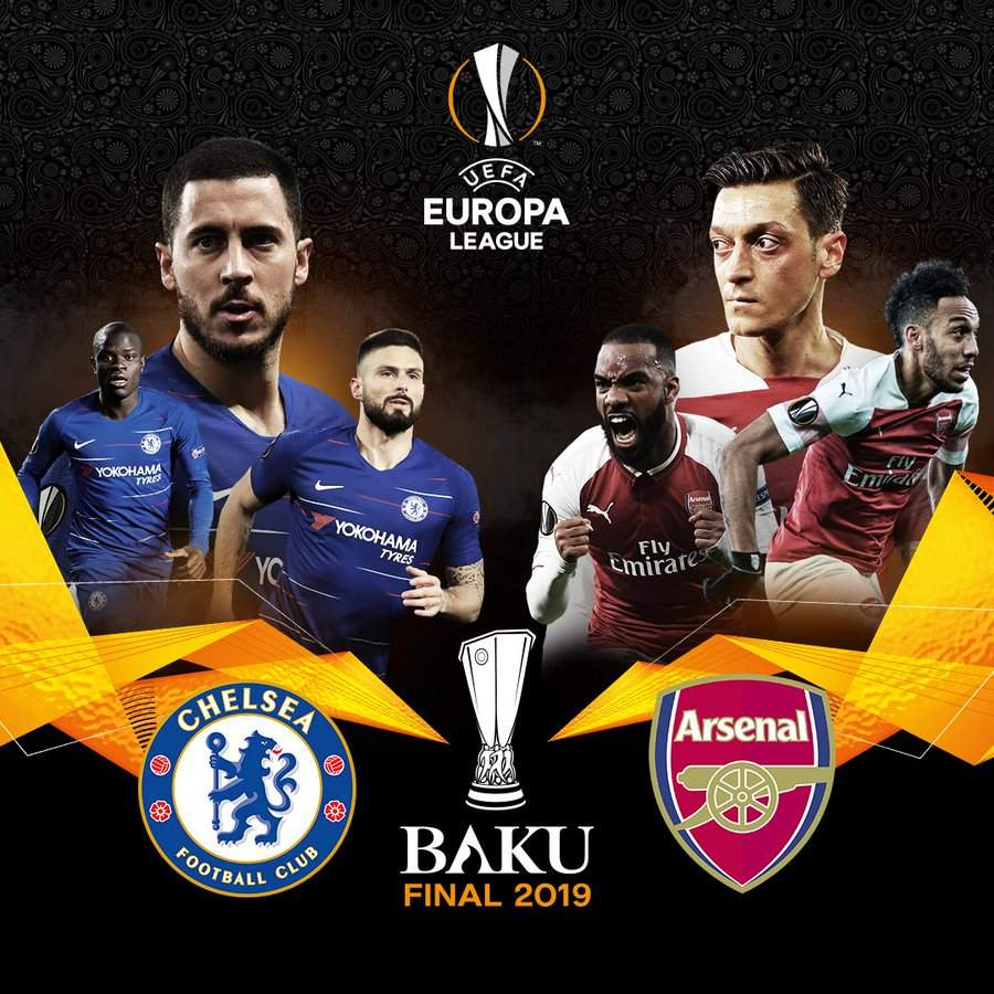 Supercomputer predicts who will win the Europa League between Chelsea and Arsenal