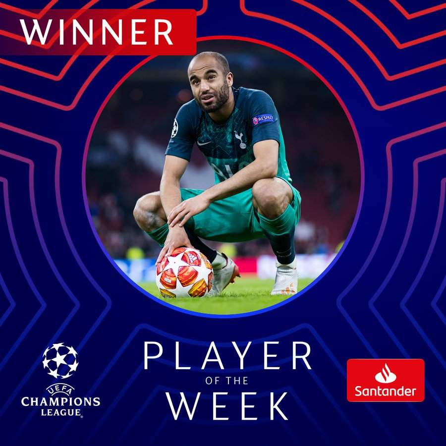 How Many Goals Has Lucas Moura Scored For Tottenham: UEFA Snubs Messi, Names EPL Star As Champions League