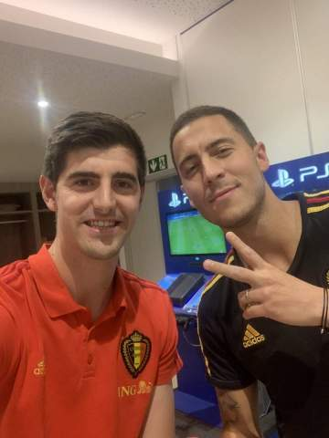 Sad as Hazard reveals what ex-Chelsea teammate told him ahead of Real Madrid switch