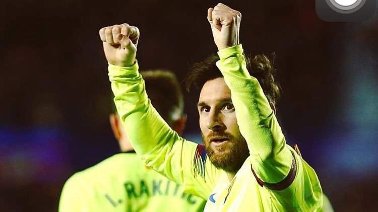 Messi recorded 49th career hat-trick in Barcelona's 5-0 win over Levante