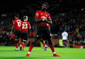 Pogba set to equal Cristiano Ronaldo's record at Man United this weekend