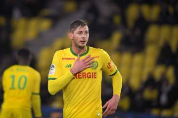 EPL new star Sala feared dead as rescue official rules out chances of finding him alive
