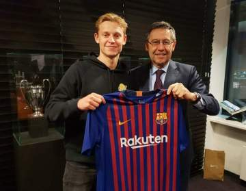 Barcelona finally complete the signing Dutch wonderkid who is also wanted by Man City, Juvetus, PSG