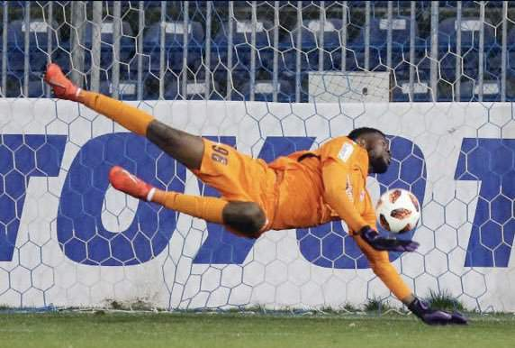 Super Eagles 20-year-old goalkeeper Francis Uzoho banned and fined heavily