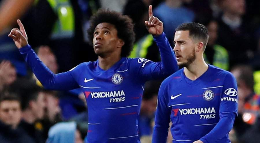 Another top Chelsea star set to follow Hazard out of Stamford Bridge in the summer over contract dispute