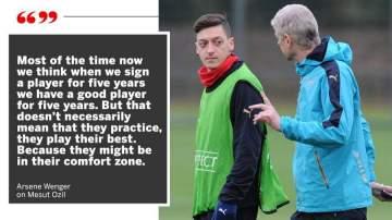 Arsene Wenger reveals big reason behind Ozil's poor form at Arsenal this season