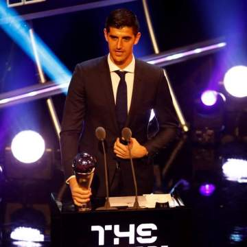 Courtois emerges Best FIFA Goalkeeper as Thy claims Fair Play prize