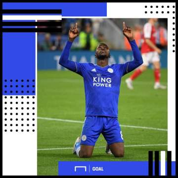 Iheanacho scores first Premier League in Leicester City's win against Huddersfield Town