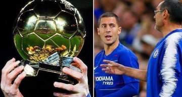Chelsea boss reveals why Hazard will beat Ronaldo and Messi to Ballon D'Or next season