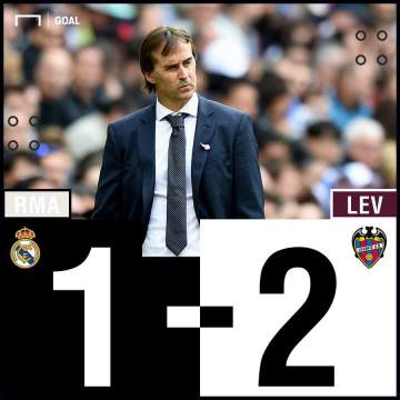 Levante shock Real Madrid in entertaining La Liga fixture at the Bernabeu